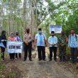 Tingkatkan Infrastruktur Desa, Pemdes Sumber Jaya Bangun JUT