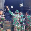 Truk Batalyon Siap Jemput Anggota TMMD Kodim Aceh Barat Kembali ke Homebase