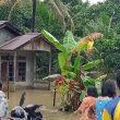 13 KK Dusun Seribot, Sanggau, Terkena Banjir