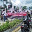 Masyarakat Sei Pegantungan Tuntut Pemkab Labuhanbatu Bangun Jalan Lintas Desa