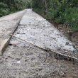 Baru Selesai, Jalan Cor Beton Bukit Langkap Sudah Rusak