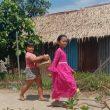 Pasca TMMD Kodim Ketapang Anak-anak Rindu akan Bermain Bersama Satgas