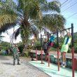 Kembali dari TMMD, Babinsa Lakukan Pembinaan Fisih bagi Calon Prajurit