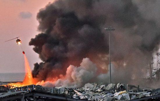 78 Orang Tewas dan Ribuan Cedera dalam Ledakan Hebat di Beirut