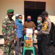 Sembako Bantuan Provinsi dan Kabupaten disalurkan ke Masyarakat Aek Hitetoras