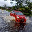 Jalan Raya di Purun, Kalbar Terendam Banjir