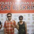 Dua Pelaku Pencurian Kabel PLN  Diamankan Polres Labuhanbatu