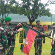 Tuntas Selesaikan Satgas Pamtas RI – Malaysia, 450 Personil Batalyon 133/ YS di Sambut Pangdam 1/ BB