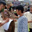 Tidak Memakai Masker, 52 Orang di Padang diAmankan Tim Gabungan Operasi Yustisi