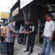 Pjs Bupati Labuhanbatu Bagikan Langsung 1000 Masker kepada Masyarakat Bilah Hilir