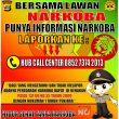 Berantas Penyalahgunaan Narkoba Polres Lampung Utara Buka Layanan Call Center