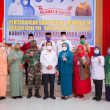 Dinas BP2KB Labuhanbatu Gelar Kegiatan Pencanangan Bakti Sosial PKK Bangga Kencana Kesehatan 2020