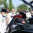 Bupati Lampung Utara Kecewa Banyak Kendaraan Dinas Tidak Ikuti Apel