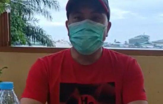 Anggota DPRD Sanggau Sampaikan Imbauan Prokes