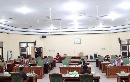 Rapat Bersama Bapemperda DPRD Landak Bahas Propemperda Tahun 2021