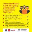 [INFOGRAFIS] Masker Boleh Pilih yang Trandi, Tapi Ingat!