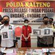 Sebar Ujaran Kebencian di Medsos, Simpatisan FPI Dibekuk Ditreskrimsus Polda Kalteng