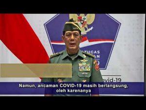 [VIDEO] Ini Pesan Ketua Satgas Penanganan Covid-19 pada Natal dan Tahun Baru
