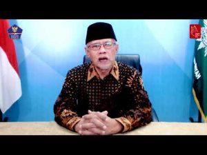 [VIDEO] Ini Imbauan Ketum PP Muhammadiyah Tentang Protokol Kesehatan