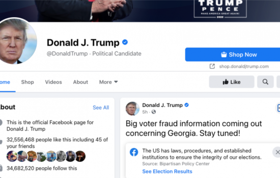 Facebook Serahkan Keputusan Pemblokiran Akun Trump ke Dewan Pengawas