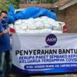 Relawan MCA Bagikan 250 Paket Sembako Pada Warga Lampura