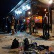 Langgar Prokes Polisi Bubarkan Kerumunan di Cafe