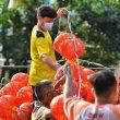 FOTO: Lampion Hiasi Sudut Kota Pontianak