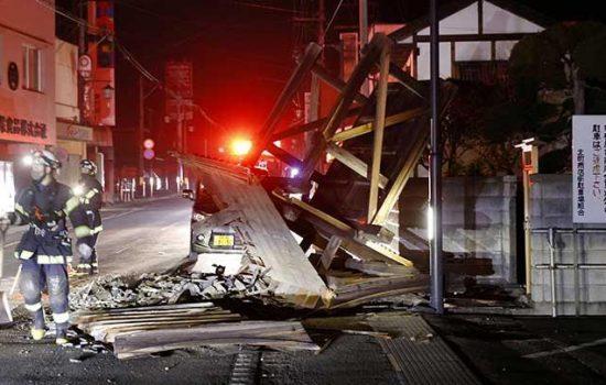 Warga Ceritakan Momen Saat Gempa di Fukushima Jepang Terjadi