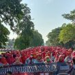 Ribuan Buruh Indonesia Akan Gelar Aksi Solidaritas Palestina