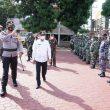 Kesiapan Pengamanan Idul Fitri, Polres Asahan Laksanakan Apel Gelar Pasukan OPS Ketupat Toba 2021