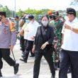 Jelang Lebaran, Panglima TNI, Kapolri dan Ketua DPR RI Tinjau Lokasi Penyekatan di Bakauheni Lampung