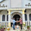 Jemaat Gereja dan Salah Satu Perusahaan di Simalugun Gelar Marharoan Bolon
