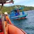 Terjatuh di Perairan Lemukutan, Seorang ABK KM Singa Laut dalam Pencarian Tim SAR