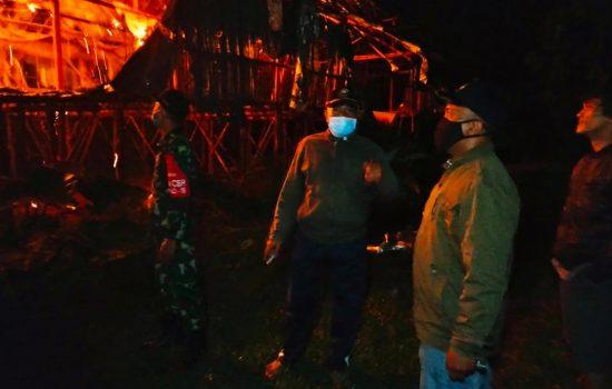 Kebakaran Hanguskan Kandang Ayam di Kabupaten Batang