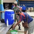 Koramil 16/ Sekadau Hulu Babinsa Sosialisasikan 3M di Desa Binaan
