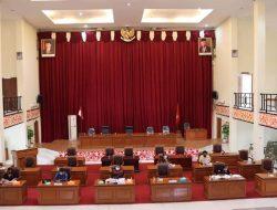 Banggar DPRD Landak Bersama TAPD Gelar Rapat Gabungan Bahas Rancangan KUA PPAS APBD Tahun Anggaran 2022