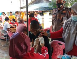 Minat Masyarakat Kabupaten Mentawai Ikuti Vaksinasi Tinggi, Stock Dosis Vaksin Kurang
