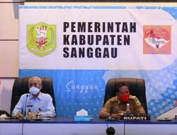 Bahas Penghapusan BMN, Kemenkumham Kalbar Audensi Bersama Bupati Sanggau