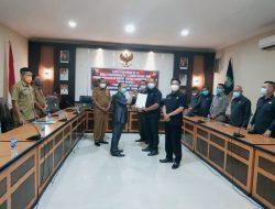 Wabup Sanggau sampaikan Empat Raperda Usulan Eksekutif kepada DPRD