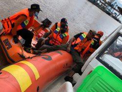 Pandi, Seorang Pemancing Udang yang Tenggelam di Sungai Kapuas Ditemukan