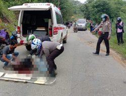 Pengendara Sepeda Motor Alami Lakalantas Tunggal di Landak, Satu Korban Tewas