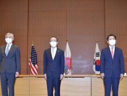 AS, Jepang dan Korsel Bertemu di Tokyo Bahas Nuklir Korut