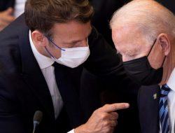 Krisis Kontrak Kapal Selam, Biden Minta Bicara dengan Macron