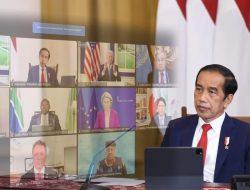 Jokowi: Perlu Segera Dibangun Sistem Ketahanan Kesehatan Global yang Baru