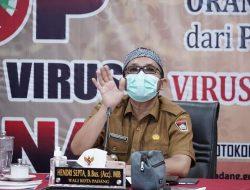 PPKM Level 4 di Padang Kembali Berlanjut,Wako Padang: Dalam Sepekan Kita Kebut Capaian Vaksinasi