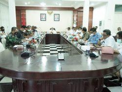 Bupati Asahan Pimpin Rapat Perkembangan Covid-19 di Kabupaten Asahan