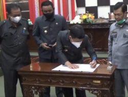 Perda Perubahan APBD 2021 Kabupaten Sambas Disahkan