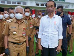 Bupati Asahan Hadiri Kunjungan Presiden Jokowi di Rumah Dinas Gubernur Sumut