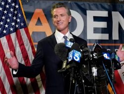 Upaya Memecat Gubernur California Gagal
